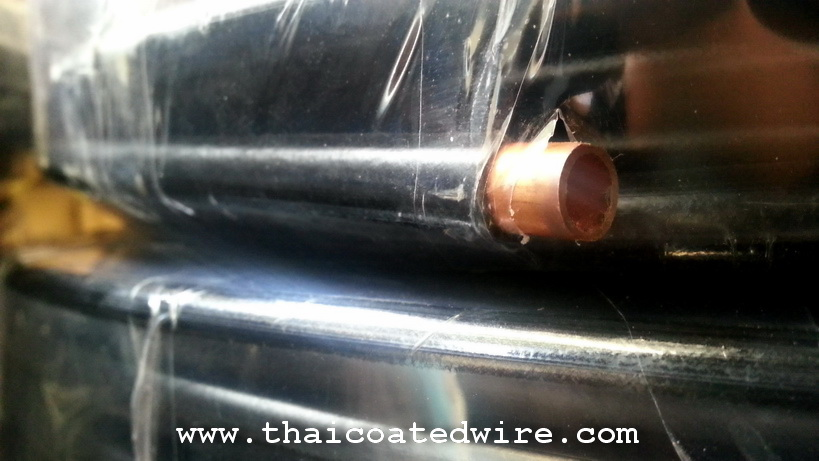 ท่อทองแดงหุ้มพลาสติก