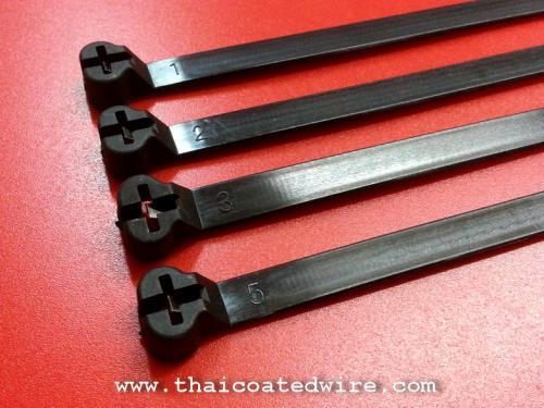 เคเบิ้ลไทร์เขี้ยวสเตนเลส (Metal Pawl Cable Tie)
