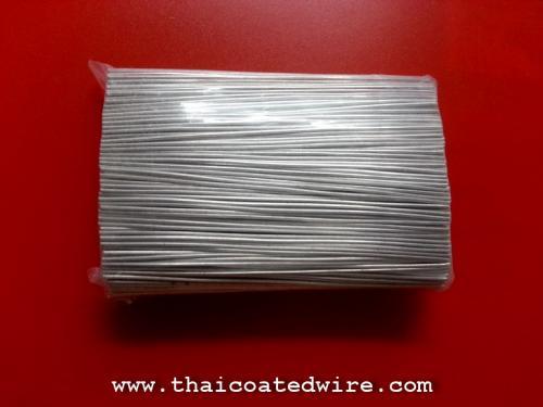 ลวดอลูมิเนียม 1mm ตัดความยาว 17cm สำหรับใช้รัดติด Tag งานติดตั้งสายไฟเบอร์ออพติค