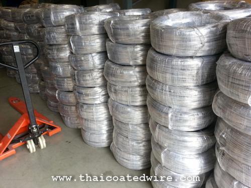 ลวดอลูมิเนียมกลม ขนาด 4.0mm ม้วน 25kg Aluminium Wire Dia. 4.0mm