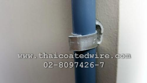 ลวดอลูมิเนียมแบน ใช้สำหรับรัดท่อแอร์ ท่อสายไฟ หรือรัดสายไฟ ทนทาน ใช้งานง่าย ไม่เป็นสนิม