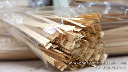 ลวดหุ้มกระดาษคราฟต์ สำหรับรัดปากถุงเบเกอรี่ แบบตัด 12cm
